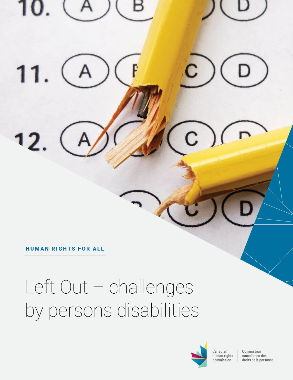 Left Out: Challenges faced by persons with disabilities in Canada's schools
